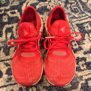 Red Adidas Pureboost